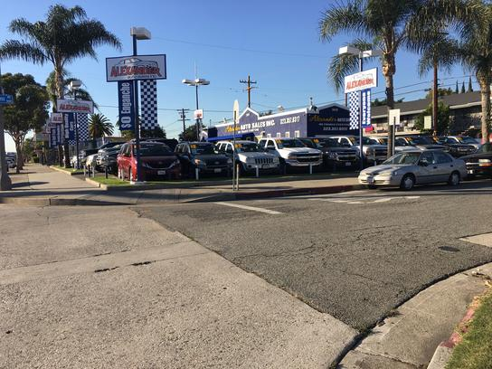 Alexander Auto Sales Inc South Gate Ca 90280 Car