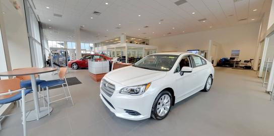Day Apollo Subaru car dealership in Moon Township, PA ...