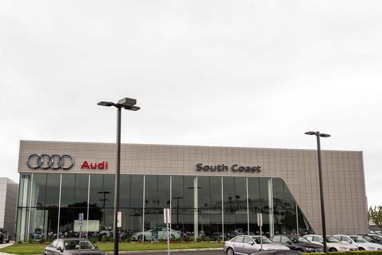 Audi South Coast Car Dealership In Santa Ana Ca 92705