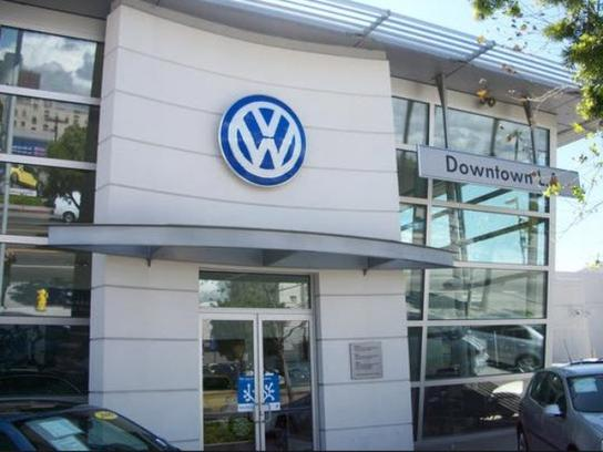 volkswagen  downtown la los angeles ca   car dealership  auto financing