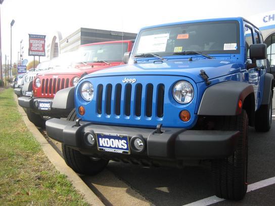 Nissan Dealers In Va >> Koons Chrysler Dodge Jeep Ram : Vienna, VA 22182 Car ...