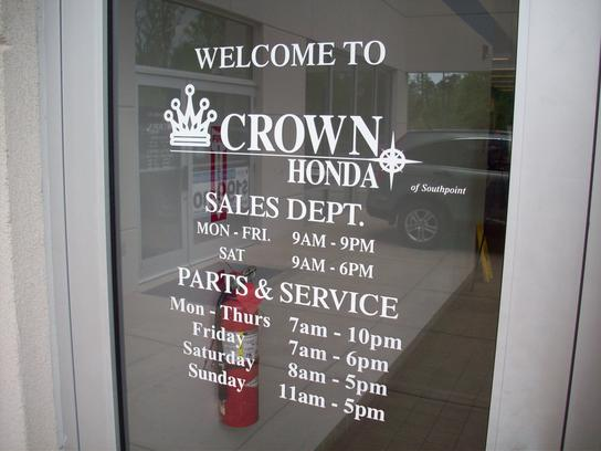 Crown Honda of Southpoint 2