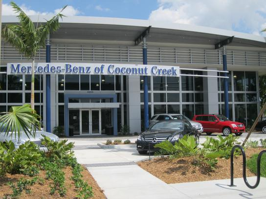 Mercedes benz of coconut creek car dealership in coconut for Mercedes benz dealers in florida
