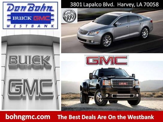 Don Bohn Buick GMC : Harvey, LA 70058 Car Dealership, and Auto ...