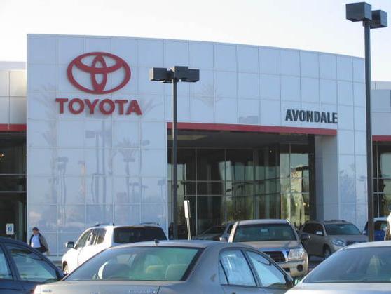 Toyota solara vehicles for sale kelley blue for Honda dealership avondale