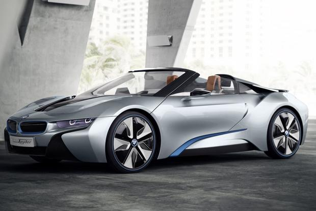 BMW i8 Spyder Concept: Beijing Auto Show featured image large thumb0