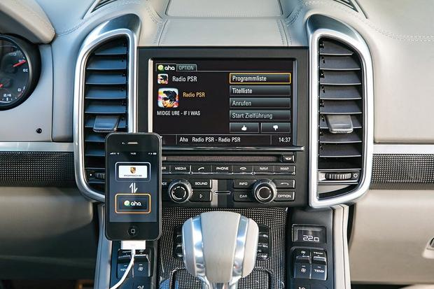 Porsche and Aha Internet Radio: 2013 Consumer Electronics Show featured image large thumb0