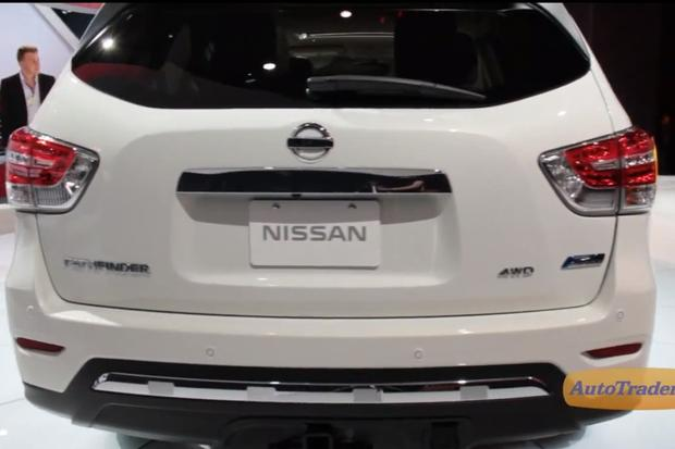 2014 Nissan Pathfinder Hybrid: New York Auto Show - Video featured image large thumb1
