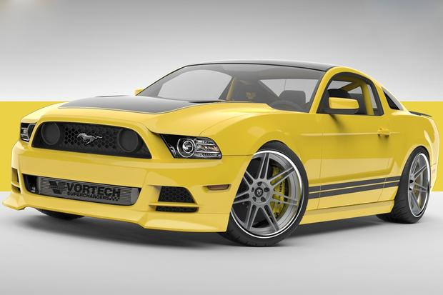 "Supercharged Ford Mustang ""Yellow Jacket"" Headed for SEMA featured image large thumb0"