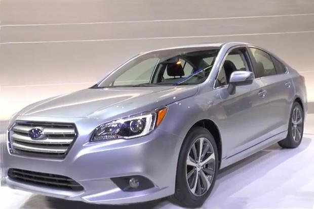 2015 Subaru Legacy: Chicago Auto Show - Video featured image large thumb1