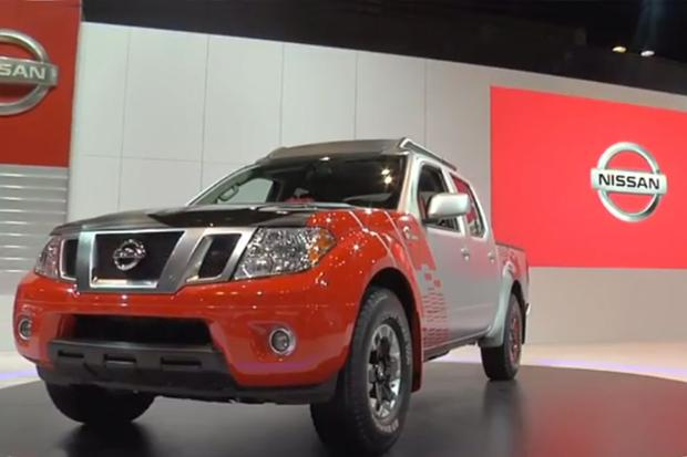 Nissan Frontier Diesel Runner Concept: Chicago Auto Show - Video featured image large thumb1