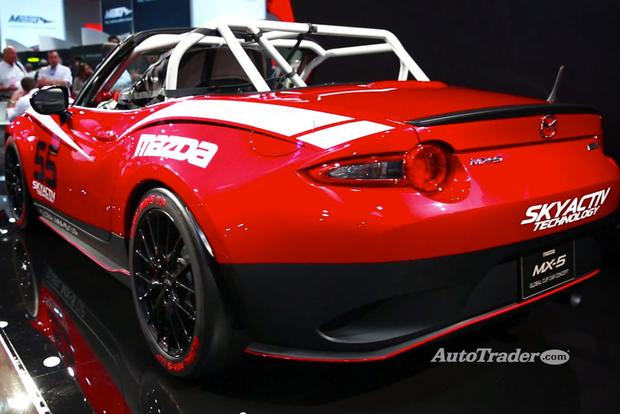 2016 Mazda MX-5 Miata Cup Car: SEMA Show - Video featured image large thumb1