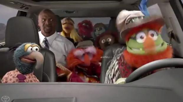 Toyota Highlander: Terry Crews and the Muppets featured image large thumb2