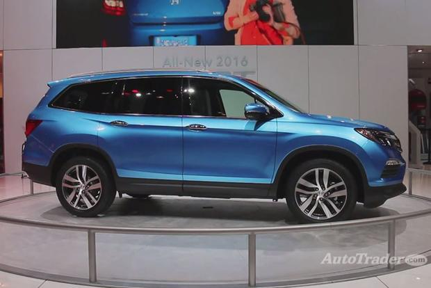 2016 Honda Pilot: Chicago Auto Show - Video featured image large thumb1