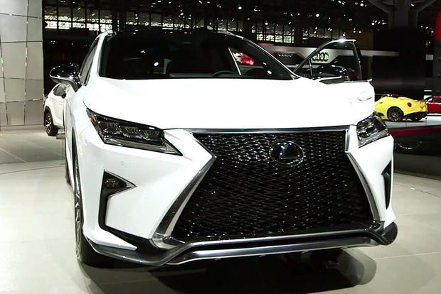 2016 Lexus RX: New York Auto Show - Video featured image large thumb1