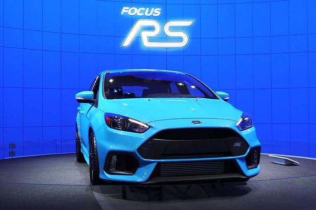 Ford Focus RS: New York Auto Show - Video featured image large thumb1
