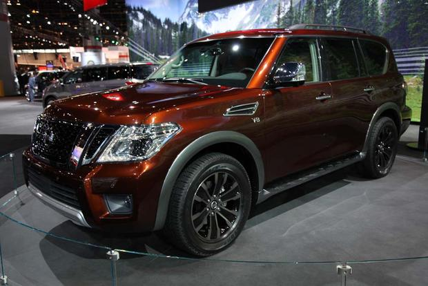 2017 Nissan Armada: Chicago Auto Show featured image large thumb0