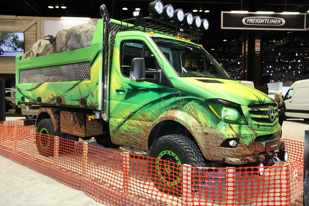 Mercedes-Benz Sprinter Extreme Concept: Chicago Auto Show featured image large thumb0
