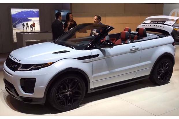 2016 Range Rover Evoque Convertible: New York Auto Show - Video featured image large thumb1