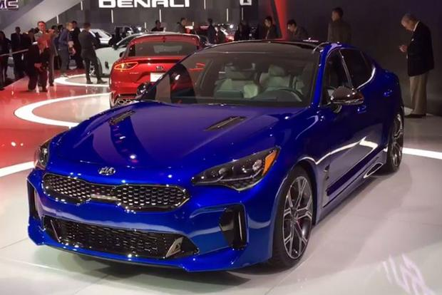 2018 Kia Stinger: Detroit Auto Show - Video featured image large thumb1