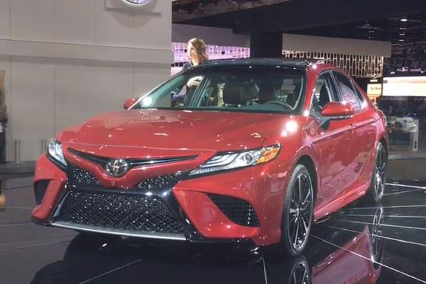 2018 Toyota Camry: Detroit Auto Show - Video featured image large thumb1
