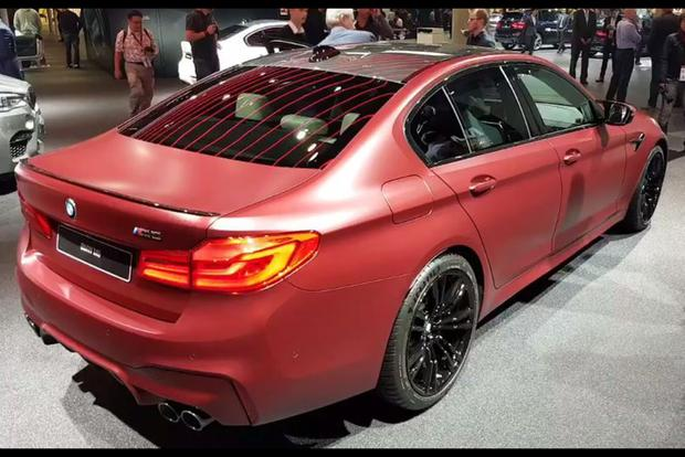 2018 BMW M5: Frankfurt Auto Show - Video featured image large thumb1