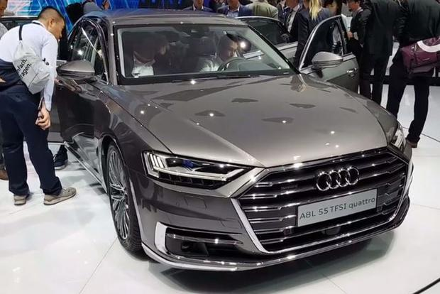 2019 Audi A8: Frankfurt Auto Show - Video featured image large thumb1