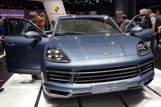 2019 Porsche Cayenne: Frankfurt Auto Show - Video featured image large thumb1