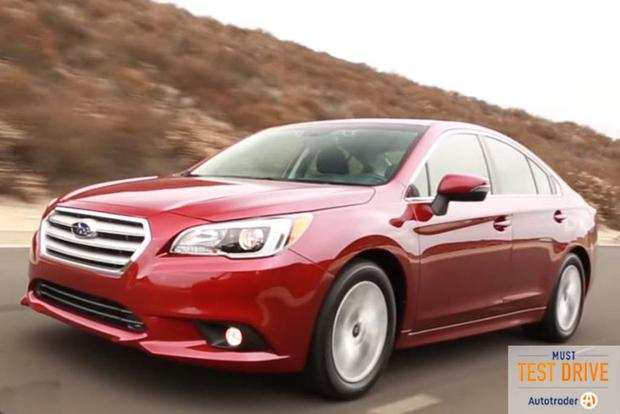 2016 Subaru Legacy: Must Test Drive - Video featured image large thumb1