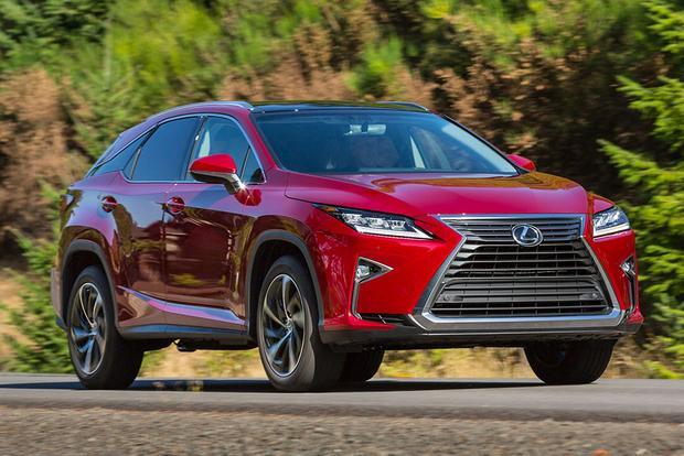 Lexus RX: Yearly Changes featured image large thumb0