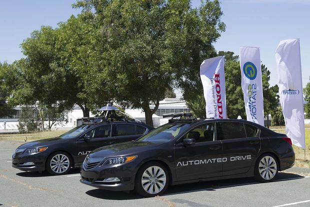Acura Pursues Self-Driving Cars With Newest RLX Test Prototype featured image large thumb0