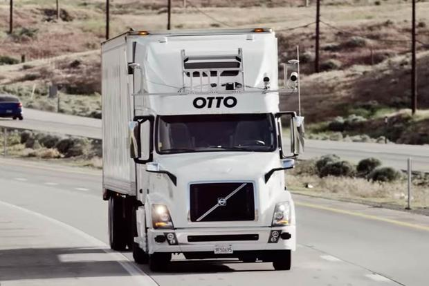 Uber Acquires Otto: Self-Driving Car Technology Trickling Down Into Long-Haul Trucking featured image large thumb0