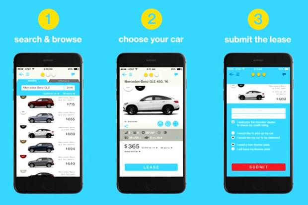 Leasing a Car with Three Swipes on Your Smartphone Is Here featured image large thumb0