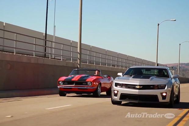 New Or Classic 2014 Chevrolet Camaro Zl1 Vs 1968 Camaro Autotrader