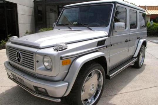 For sale on AutoTrader: Dave Mirra's G55 AMG featured image large thumb0