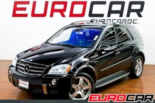 For Sale on AutoTrader: Boxing Champion's Mercedes ML63 AMG featured image large thumb0