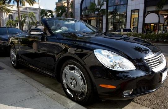 Dane Cook's Lexus SC 430: For Sale on AutoTrader featured image large thumb0