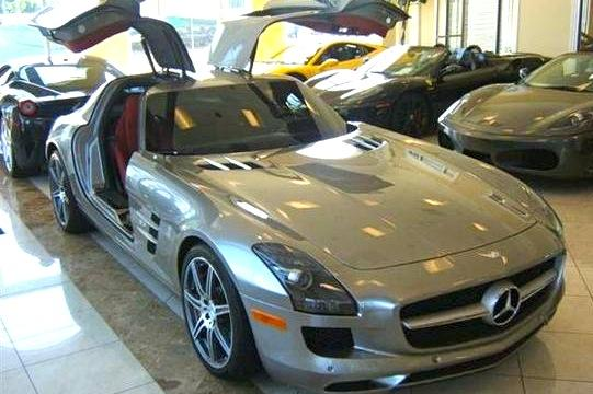 Enrique Iglesias' Mercedes SLS: For Sale on AutoTrader featured image large thumb0