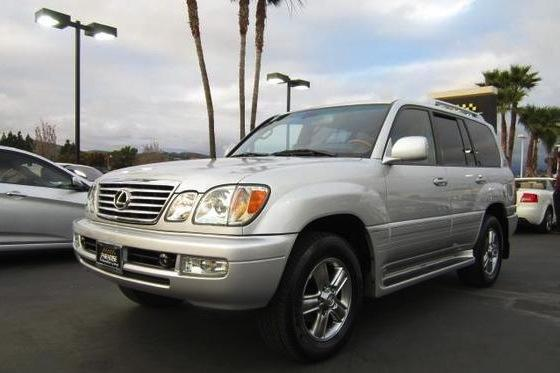 Johnny Bench Lexus LX 470: For Sale on AutoTrader.com featured image large thumb0