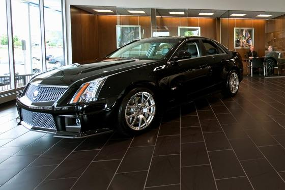 Cadillac Rolls Out New Showroom Design featured image large thumb0