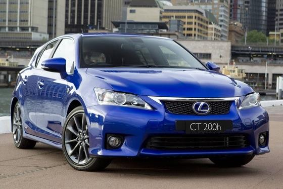lexus debuts f sport package for ct200h - autotrader