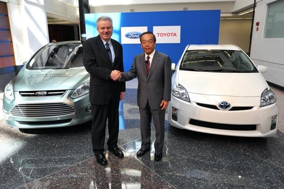 Ford and Toyota Partner on Hybrid Technology featured image large thumb0