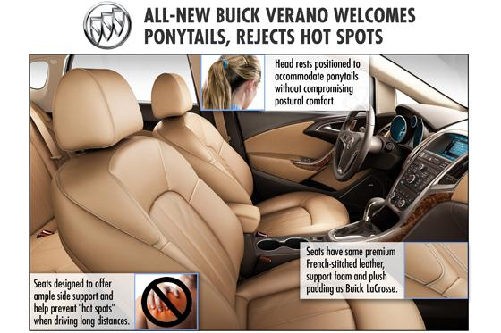 Verano Seats Designed with Ponytails in Mind featured image large thumb0