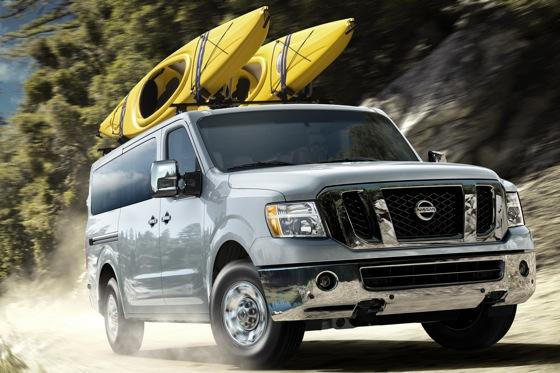 Nissan to Roll Out NV Passenger Van featured image large thumb0