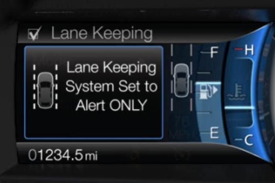 2013 Ford Fusion Will Get Smart About Lane Drift Warning featured image large thumb0