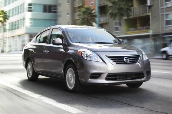 Nissan Versa Sedan Named IIHS Top Safety Pick featured image large thumb0