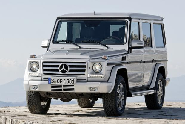 Mercedes Updates G-Class For 2013 featured image large thumb0