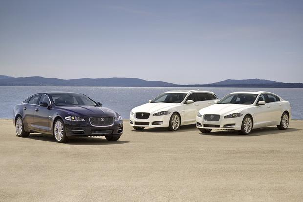 Jaguar Updating XF and XJ Sedans for 2013 featured image large thumb0