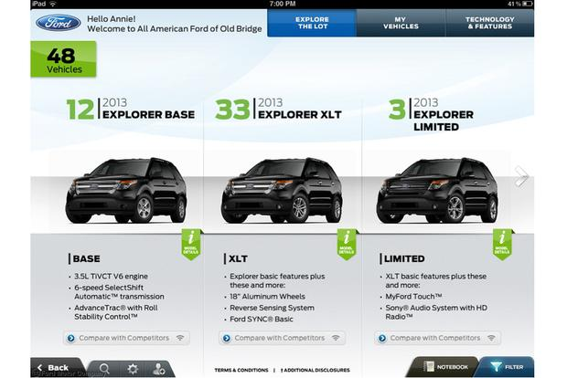 New Ford iPad App Streamlines Car Buying featured image large thumb0