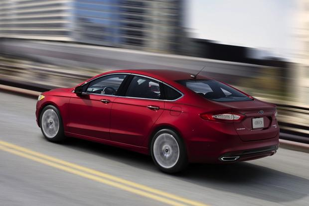 2017 Ford Fusion Receives Epa Fuel Economy Ratings